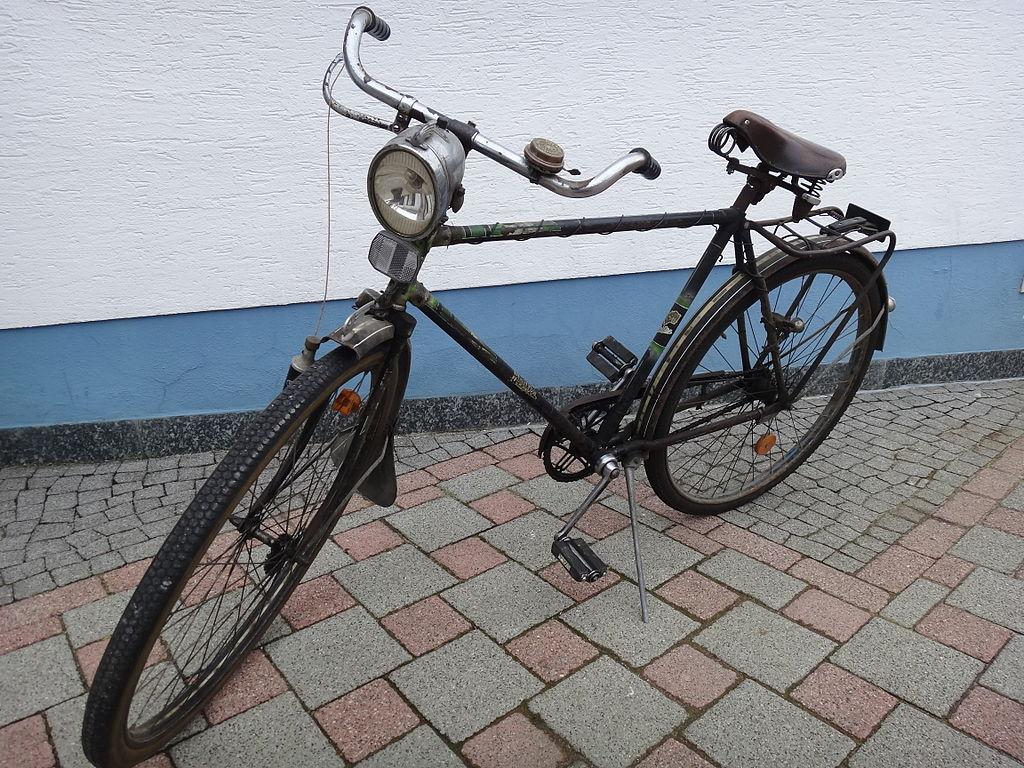 file fahrrad der firma meister bielefeld jpg wikimedia