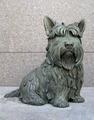 Fala, Franklin Roosevelt's dog, at F.D.R. Memorial, Washington, D.C LCCN2011630591.tif