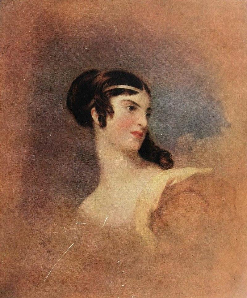 Fanny Kemble as 'Julia' - by Thomas Sully.jpg