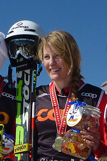 Fanny Smith Swiss freestyle skier