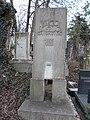 Farkasréti Jewish cemetery, József Vágó (architect) grave W, 2016 Budapest.jpg