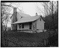 Farmhouse, north and west elevations5 - Trump-Lilly Farm, Hinton, Summers County, WV HABS WVA,45-HINT.V,1-4.tif