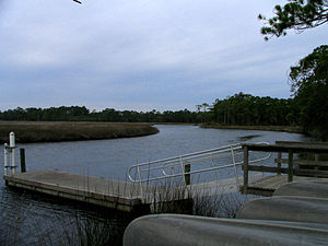 Faver-Dykes State Park - Image: Faver Dykes State Park boat launch