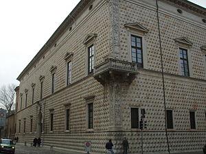 Ferrara, palazzo dei diamanti 02