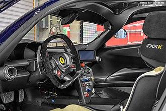 Ferrari FXX-K - Interior