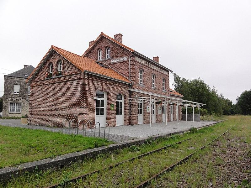 Ferrière-la-Grande (Nord, Fr) ancienne gare
