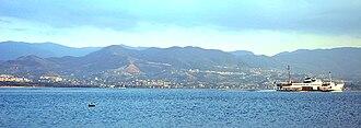 İzmit - Image: Ferry at the Gulf of Izmit