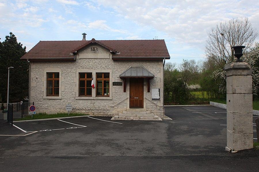 Mairie de Fertans (Doubs).
