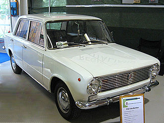Automotive industry in Italy - Fiat 124, 1967 European Car of the Year, the ancestor Soviet (Lada), Polish (Polski Fiat) and Turkish (TOFAŞ Murat 124, TOFAŞ Serçe) mass car industry