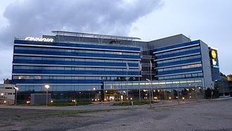 Vantaa - Finnair headquarters