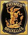 Fire mark for Compagnie de Bruxelles Societe Anonyme pour l'Assurance a Primes Contre l'Incendie, la Foudre et les Explosions in Brussels, Belgium.jpg