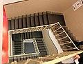 Firenze, stadio artemio franchi, scale degli spogliatoi.jpg