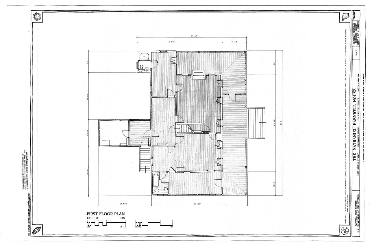 File first floor plan nathaniel barnwell house 1023 for Charleston sc house plans