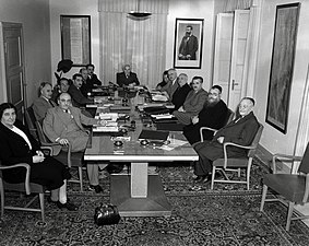 First Government of Israel on May 1, 1949