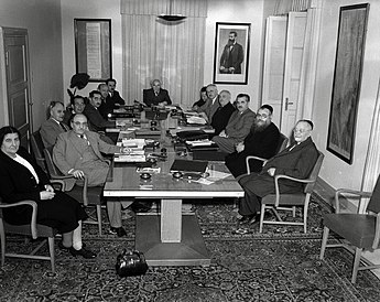 First Government of Israel on May 1, 1949.jpg