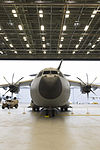 First Royal Air Force A400M transport plane is unveiled at RAF Brize Norton (45158354).jpg