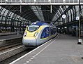 First commercial Eurostar service at Amsterdam Centraal station 1.jpg