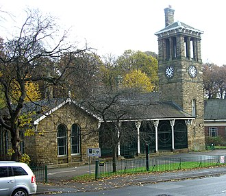 Listed buildings in Sheffield S5 - Image: Firth Park Lodge and Pavilion