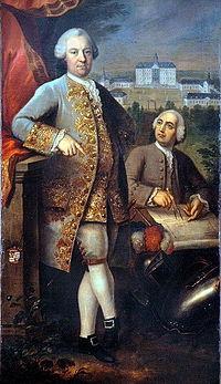 Fischer, Johann Heinrich, Portrait of Count von Quadt and Matheius Soiron (1773).jpg