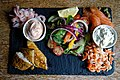 Fish platter at Black Horse Inn, Nuthurst West Sussex England.jpg