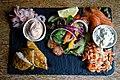 Fish platter at Black Horse Inn, Nuthurst West Sussex England.jpg