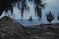 Fishermen return to Mathewtown at dusk (38839986832).jpg