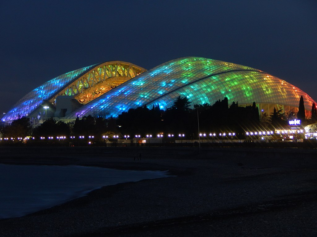 Fisht Stadium in January 2018