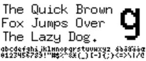 Fixed (typeface) - Image: Fixed sample