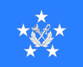 Flag Thai Marshal of Air Force.svg