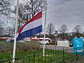Flag halfway for the death of Mayor Pieter Smit, Winschoten (11 April 2018) 08.jpg