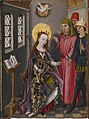 Flemish - Part of an Altarpiece with Three Scenes from the Life of Saint Catherine - Walters 372486.jpg