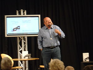 Forum Copenhagen - Flemming Jensen at the annual Danish book fair, BogForum