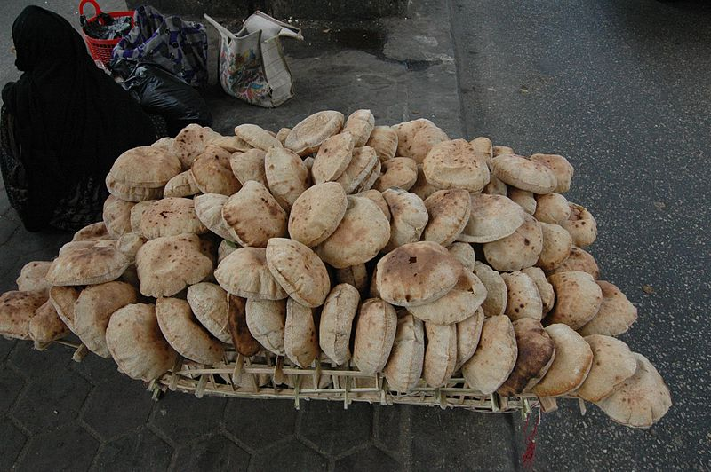 File:Flickr - Gaspa - Cairo, venditore di pane.jpg