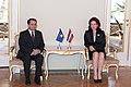Flickr - Saeima - Solvita Āboltiņa tiekas ar Kosovas vēstnieku (2).jpg