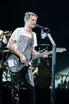 Matthew Bellamy v roku 2009