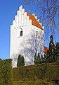 Floeng Kirke Denmark belfry.jpg