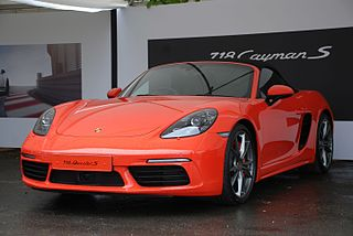 Porsche Boxster/Cayman car model
