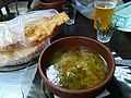 Food in Kharkiv (Çiberek and vegetable soup).jpg