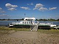 Foot ferry Hitzacker-Bitter over the Elbe. Hitzacker jetty. Niedersachsen , Germany. - panoramio.jpg