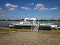 Foot ferry Hitzacker-Bitter over the Elbe. Hitzacker jetty. Niedersachsen , Germany. - panoramio.jpg