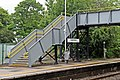 Footbridge, Capenhurst Railway Station (geograph 2986985).jpg