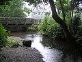 Footbridge, Retreat Close, Omagh - geograph.org.uk - 1396144.jpg