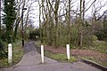 Footpath from Lonsdale Drive (north side) to Worlds End, Enfield - geograph.org.uk - 732878.jpg