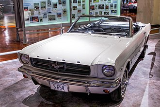 Lee Iacocca - Iacocca was instrumental in the introduction of the Ford Mustang.  Pictured here is a 1965 Mustang convertible.
