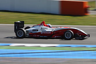 Valtteri Bottas - Bottas competing at the second round of the 2010 Formula 3 Euro Series at Hockenheim.