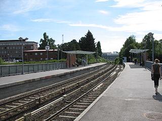 Forskningsparken station Oslo metro station
