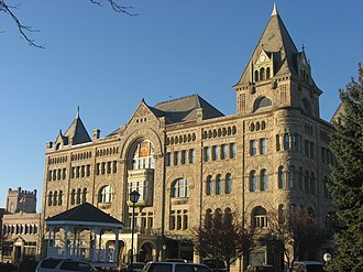Piqua, Ohio - Fort Piqua Hotel is one of four sites in Piqua listed on the National Register of Historic Places