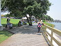 Fort Walton Landing Latino Fest boardwalk.JPG