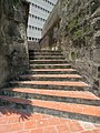 Fort of San Antonio Abad - southeastern steps to rampart 1.JPG