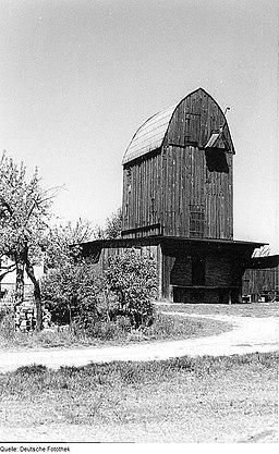 Fotothek df rp-a 0380056 Rogätz. Windmühle